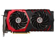 Видеокарта MSI GeForce GTX 1060 Gaming X (6Gb 192bit)  GTX 1060 GAMING X 6G