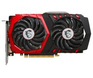 Видеокарта MSI GeForce GTX 1050Ti Gaming X (4Gb 128bit)  GTX 1050 TI GAMING X 4G