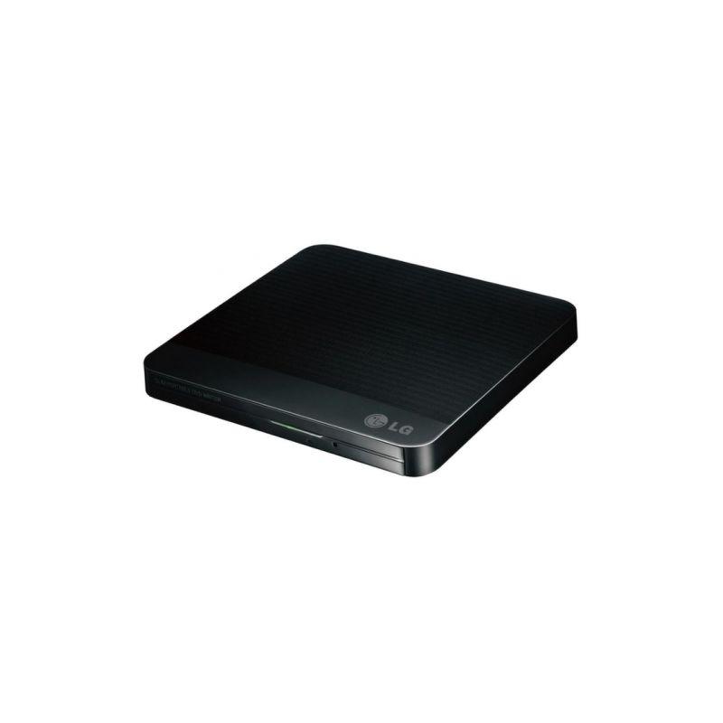 Привод DVD-RW LG USB [GP50NB41] черный, тонкий, внешний
