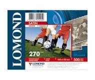 "Фотобумага Lomond 10x15 270 г/м2, 100л., ""Сатин""  1106202"