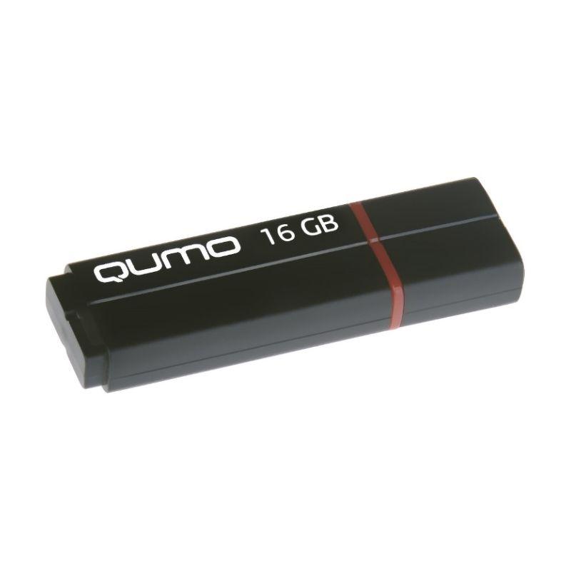 Флеш диск QUMO 16Gb SPEEDSTER QM16GUD3-SP USB3.0 Черный