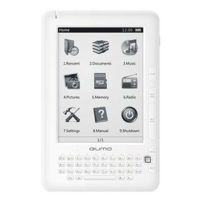 "Электронная книга QUMO Libro 6"" 2Gb Белый"
