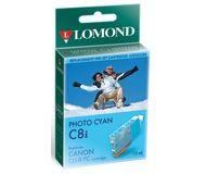 УЦЕНКА Картридж струйный Lomond CLI-8PC голубой фото (без чипа) для Pixma iP6600D (L0202336)
