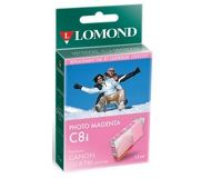 УЦЕНКА Картридж струйный Lomond CLI-8 пурпурный для Pixma iP6600D (L0202337)