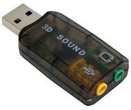 Звуковая карта USB TRUA3D (C-Media CM108) 2.0 (5.1 virtual channel) RTL