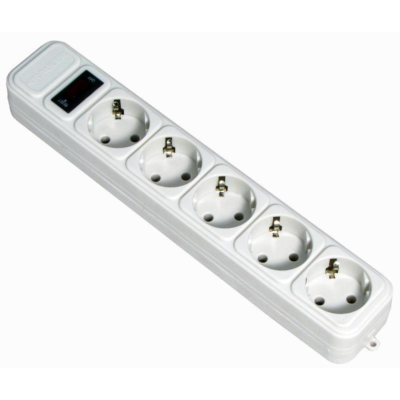 Сетевой фильтр KRAULER KR-5-3M (USB)