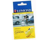 УЦЕНКА Картридж струйный Lomond BCI-3eY желтый для Canon BC-31, BC-33, S600 (L0202315)