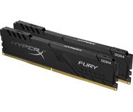 Память DDR4 16 ГБ 2666 МГц PC21300 Kingston HyperX Fury Black [HX426C16FB3K2/16] Набор 2x8 ГБ