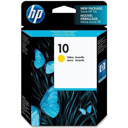 УЦЕНКА Картридж струйный HP 10 желтый (C4842AE)
