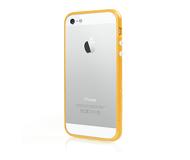 Бампер SGP Linear для  iPhone 5/5S/SE , пластик, желтый