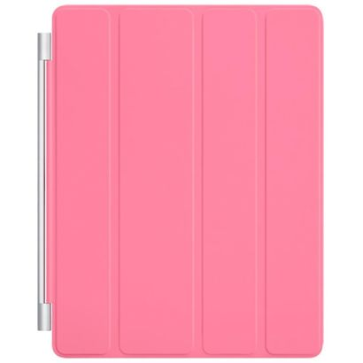 Чехол Apple iPad 2/3/4 Smart Cover полиуретан розовый [MD308ZM/A]