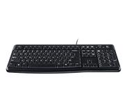 Комплект клавиатура + мышь Logitech MK120 проводной, черный (920-002561)