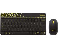 Комплект клавиатура + мышь Logitech MK240 Nano беспроводной, черный (920-008213)