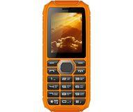 Сотовый телефон Vertex K201 защищенный черный/оранжевый (РСТ)