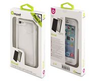 Накладка Muvit Bimat для  iPhone 5C , пластик, прозрачно-белый  MUBMC0063
