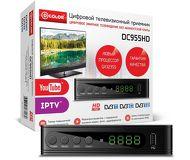 Ресивер DVB-T2 D-Color DC955HD черный