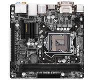 Мат.плата LGA1150 Asrock H81M-ITX Intel H81 2xDDR3 mini-ITX AC`97 8ch(7.1) GbLAN+VGA+DVI+HD б/у