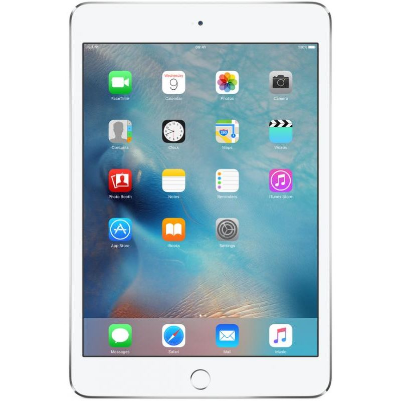 Планшет Apple iPad mini 4 16 Гб Wi-Fi + Cellular серебристый (ЕСТ)