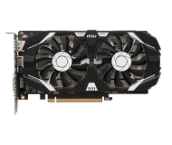 Видеокарта MSI GeForce GTX 1050Ti OC (4 ГБ 128 бит) [GTX 1050 TI 4GT OCV1]