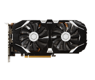 Видеокарта MSI GeForce GTX 1060 OC (6Gb 192bit)  GTX 1060 6GT OCV1