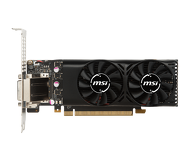 Видеокарта MSI GeForce GTX 1050Ti LP (4G 128bit)  GTX 1050 Ti 4GT LP
