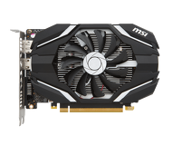 Видеокарта MSI GeForce GTX 1050 OC (2Gb 128bit)  GTX 1050 2G OC