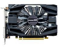 Видеокарта Innovision GeForce GTX 1060 Compact 2 (3Gb 192bit)  N1060-6DDN-L5GM