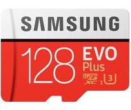 Карта памяти microSDXC 128 ГБ Samsung EVO PLUS [MB-MC128GA/RU] Class 10 UHS-I