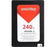 Накопитель SSD 240Gb Smartbuy Revival 2  SB240GB-RVVL2-25SAT3  (TLC)