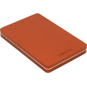 """Внешний жесткий диск Toshiba USB 3.0 500Gb HDTH305ER3AA Canvio Alu 2.5"""" красный"""