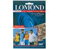 Фотобумага Lomond 10х15 260 г/м2, 20л., суперглянцевая [1103102]