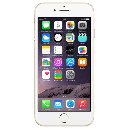 Смартфон Apple iPhone 6S 128 ГБ золотистый (ЕСТ)
