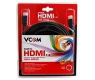 Кабель HDMI-HDMI 10м v1.4 VCOM  VHD6020D-10MB  черный