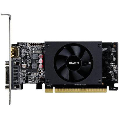 Видеокарта Gigabyte GeForce GT 710 (2 ГБ 64 бит) [GV-N710D5-2GL]