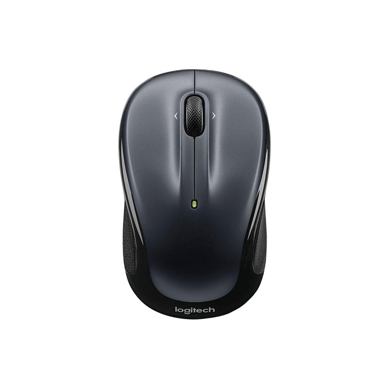 Мышь беспроводная Logitech M325 серая/черная (910-002142)