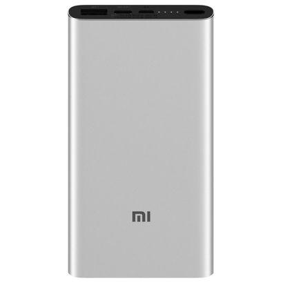 Портативный аккумулятор Xiaomi Mi Power Bank 3 10000 мАч серебристый